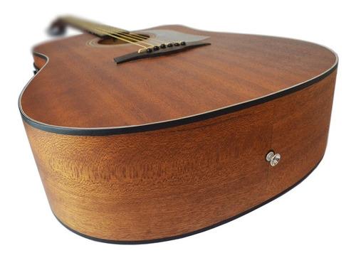 kit violão eletroacústico folk aço sgd195c shelby stnt + cap