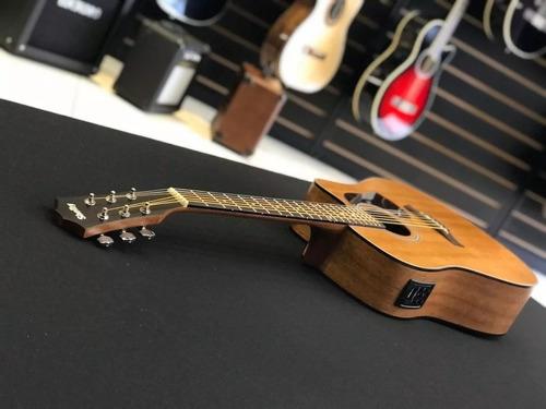 kit violão eletroacústico folk aço sgd195c stnt stnt fosco s