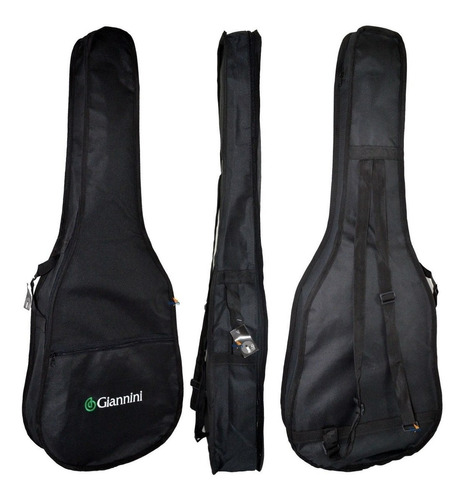 kit violão infantil acústico nylon 3/4 n6 start nt giannini
