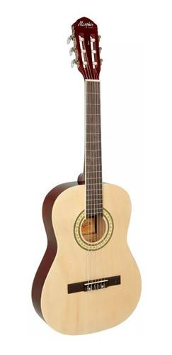 kit violão infantil memphis ac34 c/capa, afinador e palhetas