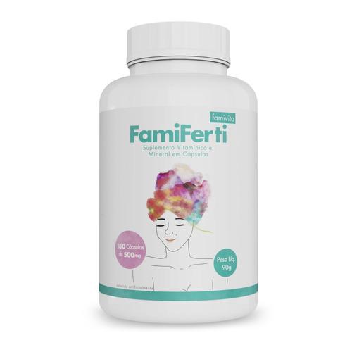 kit vitamina para engravidar inhame + famiferti + viriferti