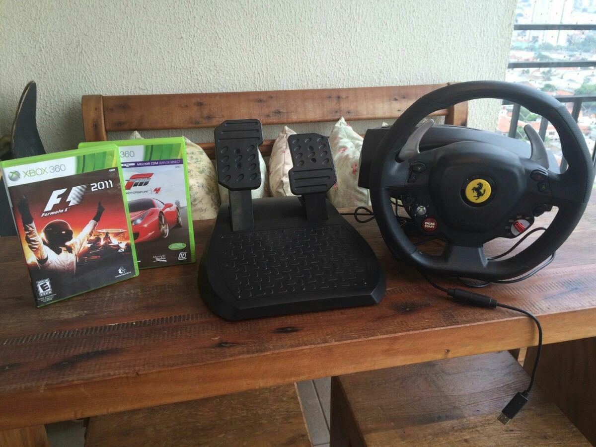 great controllers present pc p for ferrari games gaming wheel racing video xbox christmas thrustmaster italia