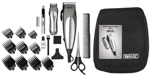 87336e368 Kit Wahl Maquina De Cortar Cabelo E Barba Deluxe Groom Pro - R$ 199 ...