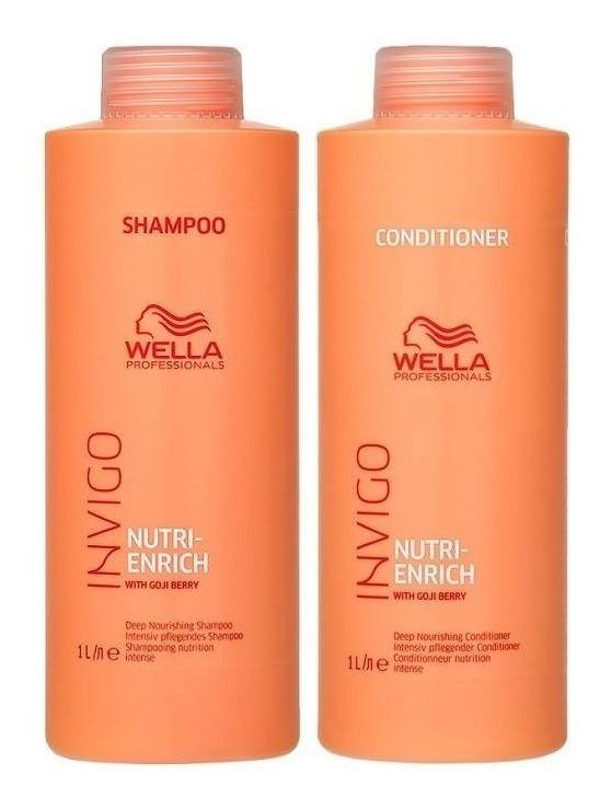 313ad69c7d4 Kit Wella Enrich Invigo Shampoo + Condicionador 1000 Ml - R$ 166 ...