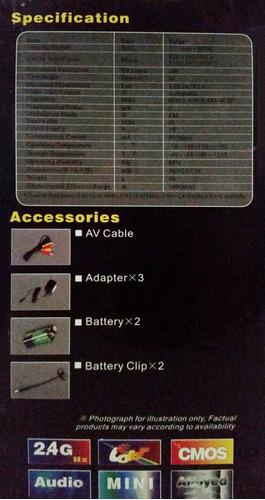 kit wireless de 2 camaras zt-803t mas receptor zt-705