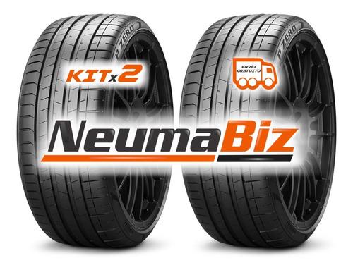 kit x 2 pirelli 265/40 r22 106y p zero neumabiz