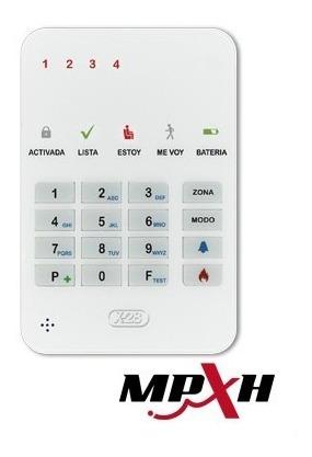 kit x-28 alarma domiciliaria full con llamador sms