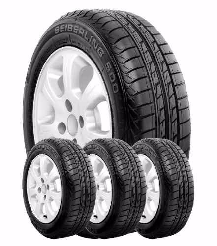 kit x 4 185/60 r14 seiberling 500 82 t firestone en arturo