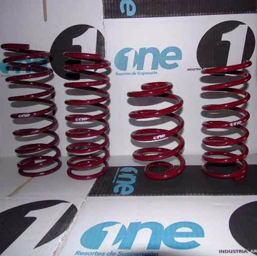 kit x 4 espiral resorte ford fiesta max progresivo del/tras