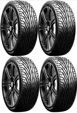 kit x 4 neumaticos triangle tr968 225/45 r17 94w
