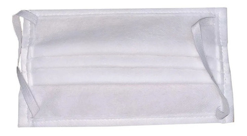 kit x 500 barbijos mascarilla tapabocas con clip nasal cuota
