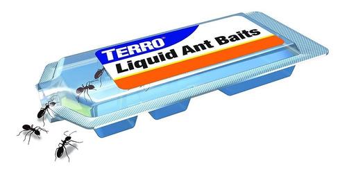 kit x 6 terro gel mata hormigas cebo liquido para hormigas