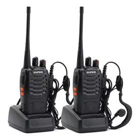 Kit X Handy Baofeng Radio Walkie Talkie Bf888s 16ch Uhf + Auricular Manos Libres