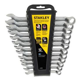 Kit X12 Llaves Combinadas Stanley Stmt97569 Stanley Stmt97569
