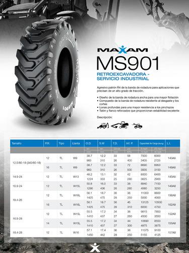 kit x2 12.5/80-18 ms901 12 pr