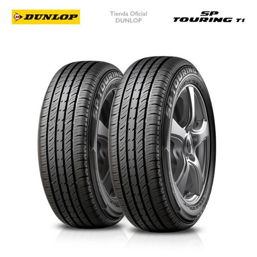 kit x2 195/60 r16 dunlop sp touring t1+colocacion en 60suc