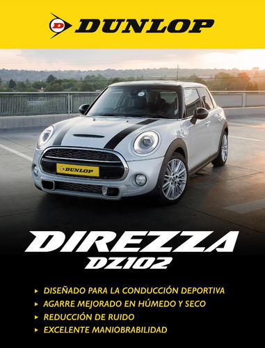kit x2 205/55 r16 dunlop direzza dz102 + tienda oficial