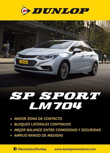 kit x2 205/55 r16 dunlop sp sport lm704 +colocacion en 60suc