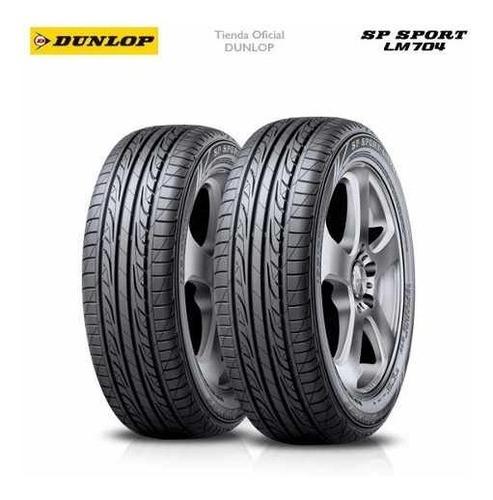 kit x2 205/55 r16 dunlop sp sport lm704 + tienda oficial
