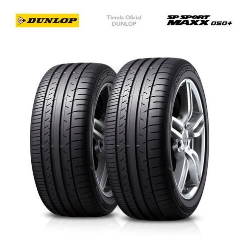 kit x2 205/55 r16 dunlop sp sport max050 + tienda oficial