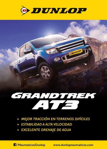 kit x2 205/70 r15 dunlop grandtrek at3  + tienda oficial