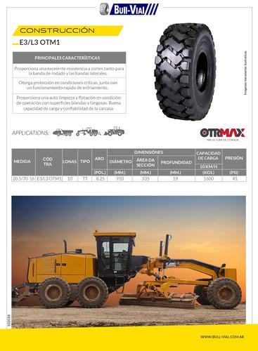 kit x2 cubierta otrmax 23.5-25 20pr tl e3/l3- otm1