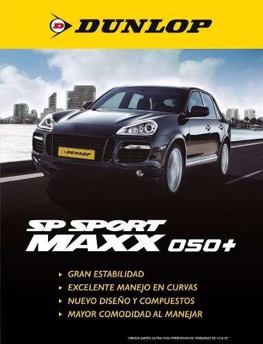 kit x2 cubiertas 255/40r17 (98y) dunlop sport max050