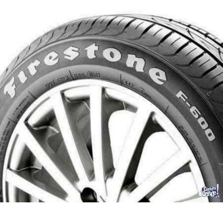 kit x2 firestone 185 60 r14 82t f-600 18 cuotas!