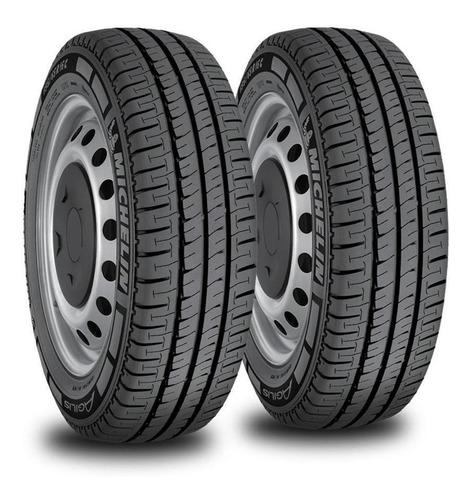 kit x2 neumáticos 205/75/16 michelin agilis r 110/108r