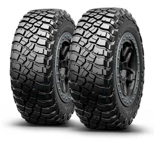 kit x2 neumáticos 215/75/15 bf goodrich mud terrain km3