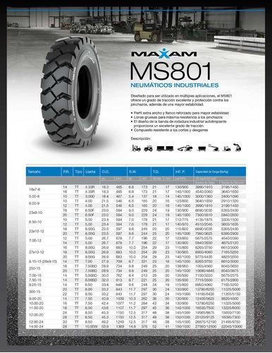 kit x2 neumaticos  5.00-8 ms801 pr 10