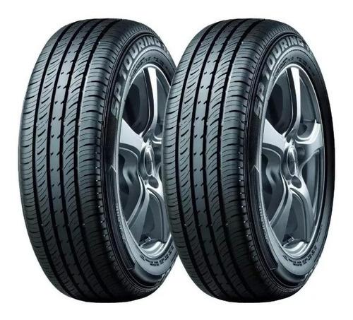 kit x2 neumáticos dunlop 155/70 r13 sp touring t1 75t