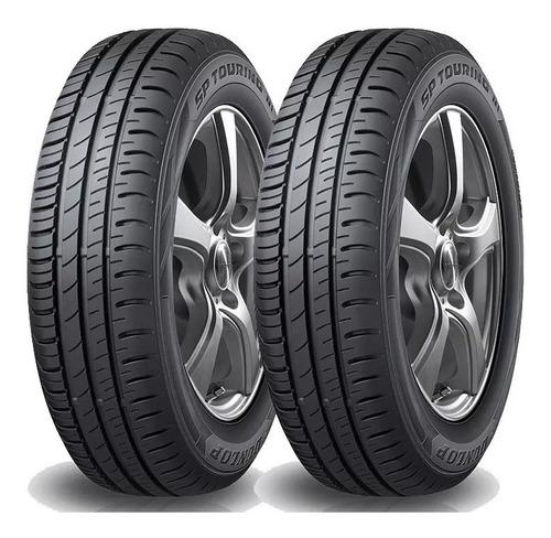 kit x2 neumáticos dunlop 185/70 r14 sp touring r1 88t