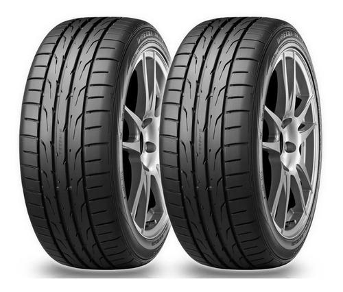kit x2 neumáticos dunlop 205/55 r16 (br) 91v direzza dz102 (