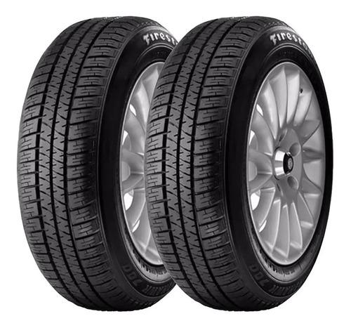 kit x2 neumáticos firestone 185 70 r13 86t f-700