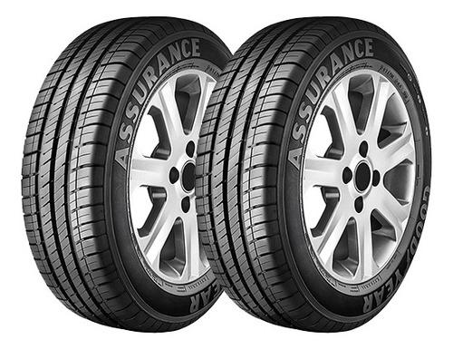 kit x2 neumáticos  goodyear assurance 185/60r14 82t