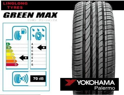 kit x2 neumáticos linglong 175/65 r14 82t greenmax eco