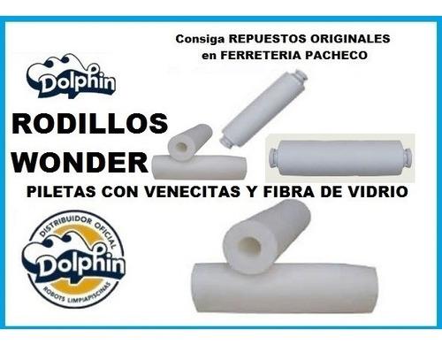 kit x2 rodillo wonder p robot dolphin diagnostic supreme m4