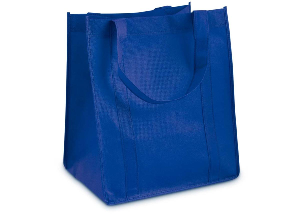 c7e69f197 Kit X3 Bolsa Gaby Bolsa Ecologica Base En El Fondo -azul Rey - $ 10.800 en  Mercado Libre