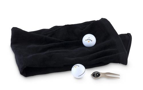 kit x3 toalla golf de mano tundida acabado fino en alg-negro