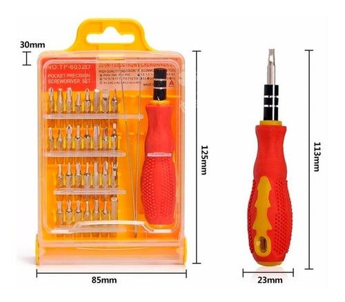 kit x32 destornilladores precision reparacion celulares