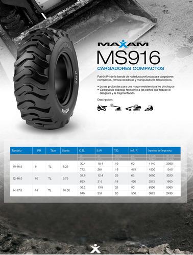 kit x4  12-16.5 ms916 10pr tl r-4 industrial