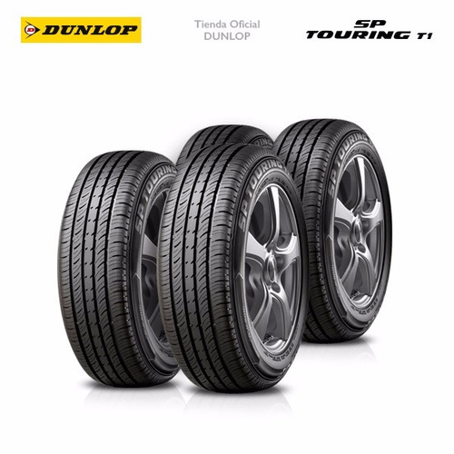 kit x4 185/65 r15 dunlop sp touring t1 +colocacion en 60suc