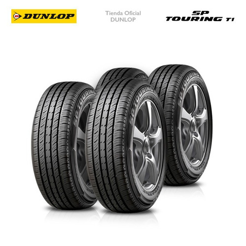 kit x4 185/70 r14 dunlop sp touring t1 +colocacion en 60suc