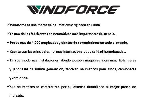 kit x4 195/55 r15 windforce catchpower 85v + envío gratis