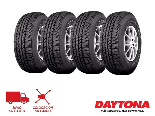 kit x4 205/70 r15 bridgestone dueler at693 96t