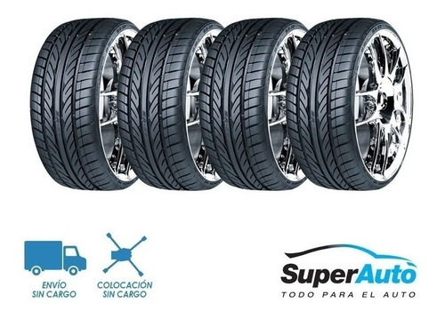 kit x4 225/55 r17  west lake sa57 xl 95w + envío gratis