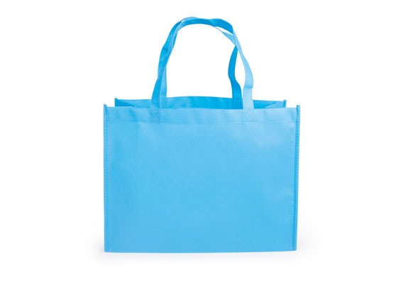 16d8af058 Kit X4 Bolsa Ecologica Kambrel Janice Bag Con Dob-azul Claro ...