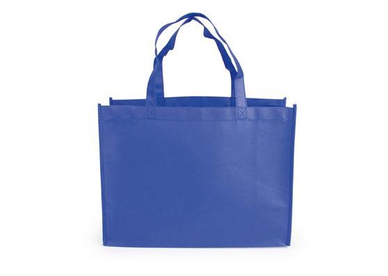 c5891df32 Kit X4 Bolsa Ecologica Kambrel Janice Bag Con Doble Aga-azul ...