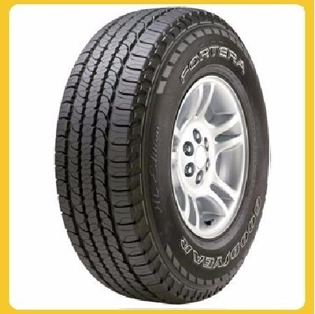 kit x4 goodyear 225/65 r17 fortera - vulcatires